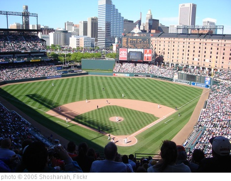 'Camden Yards' photo (c) 2005, Shoshanah - license: http://creativecommons.org/licenses/by/2.0/
