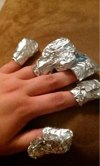 """How to take glitter nail polish off easily"""