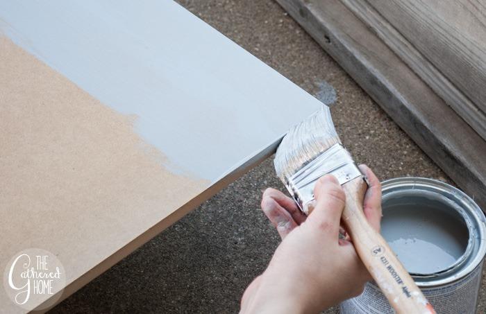 painting mdf edge