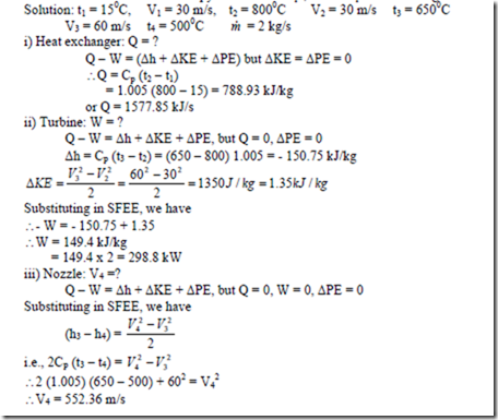 Problems On Thermodynamics Part2 Hvac Machinery