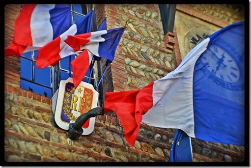 Le poing de la France