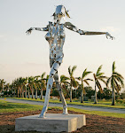 The Muse, galvanized and powder coated steel, 27' x 24' x 13', 2005