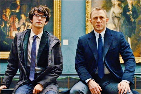 Ben Whishaw and Daniel Craig