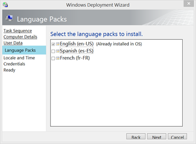 windows 10 install language pack mdt