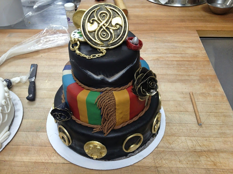 Doctor Who Cake by Delicious Snackies