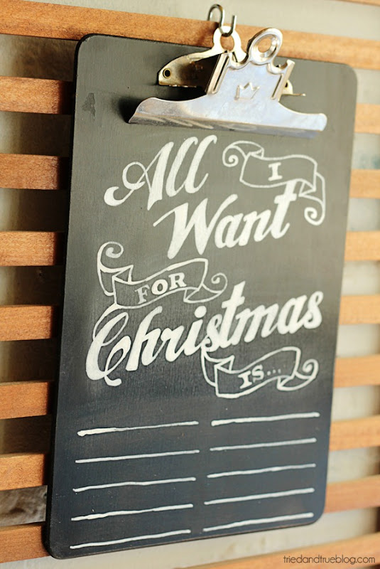 chalkboard wish list 6