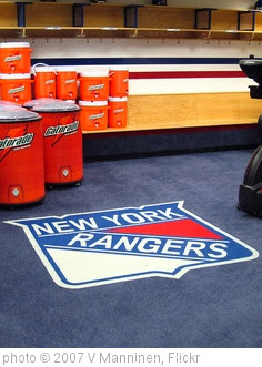 'New York Rangers locker room' photo (c) 2007, V Manninen - license: http://creativecommons.org/licenses/by/2.0/