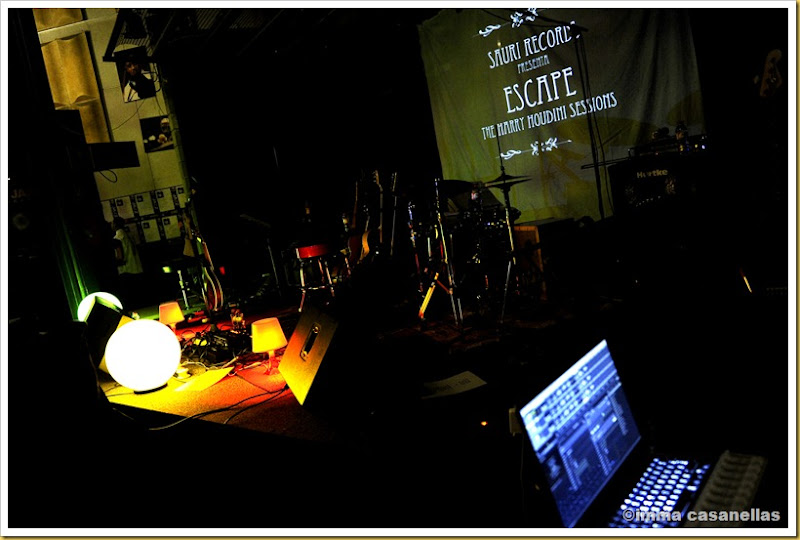 Escenari de la Nova Jazz Cava, Terrassa 2013