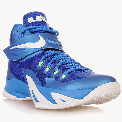 nike zoom soldier 8 gr blue white volt 1 01 Closer Look at Nike Zoom Soldier 8 Blue / Volt Dropping Next Week
