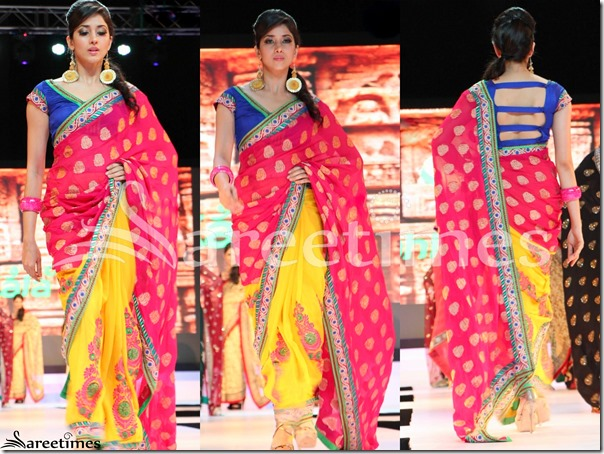 Pink_Yellow_Half_and_Half_Saree