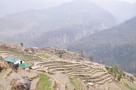 Trekking in Nepal: Vai terasate in Nepal