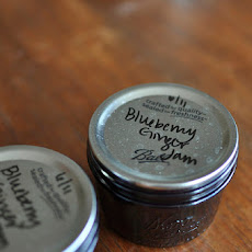 Small Batch Blueberry Ginger Jam