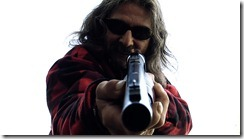 DIRTY JESUS (John Scott) GETS READY TO PULL THE TRIGGER in THE KILLING GAMES