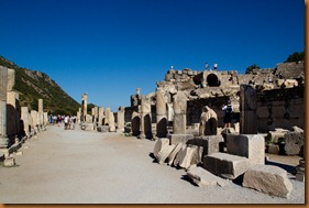 Ephesus, Odeon and the way in