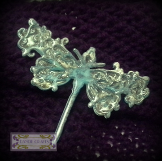 Dragonfly Brooch Dec 14