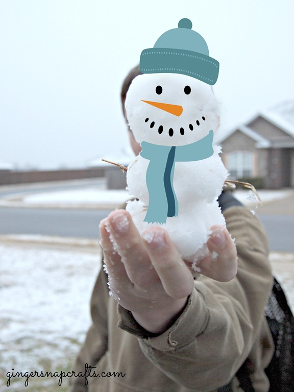 world's smallest snowman