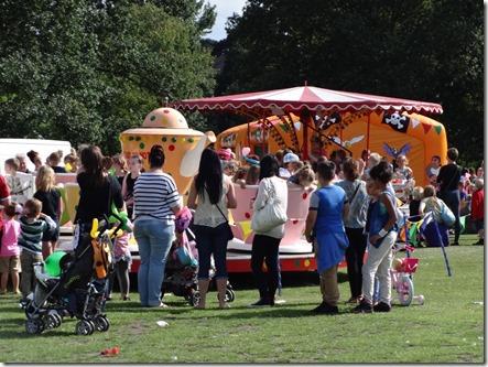 Crewe Playday - fairground rides