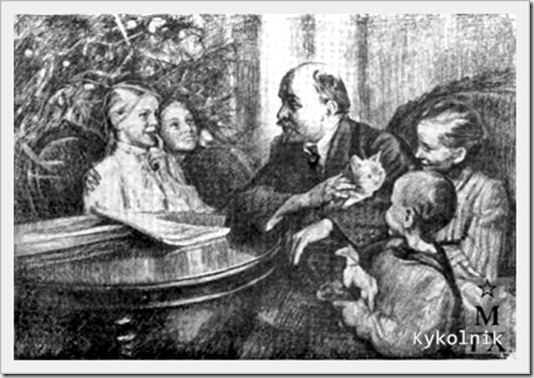 Орлова Вера Александровна (Россия, 1904-1993) «Елка в Горках» 1951