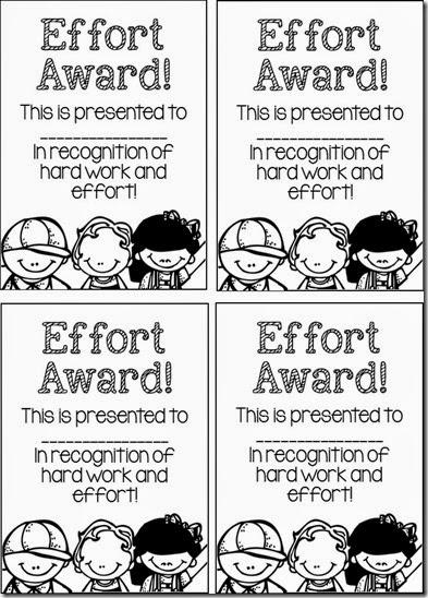 Effort Awards