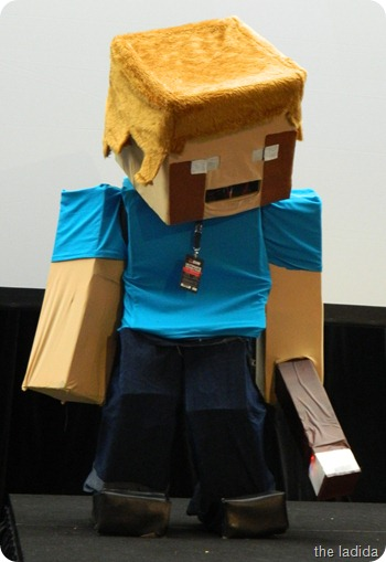 EB Expo Just 'Cos Cosplay Competition - Steve from Minecraft (2)