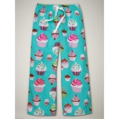 cupcake PJ bottoms