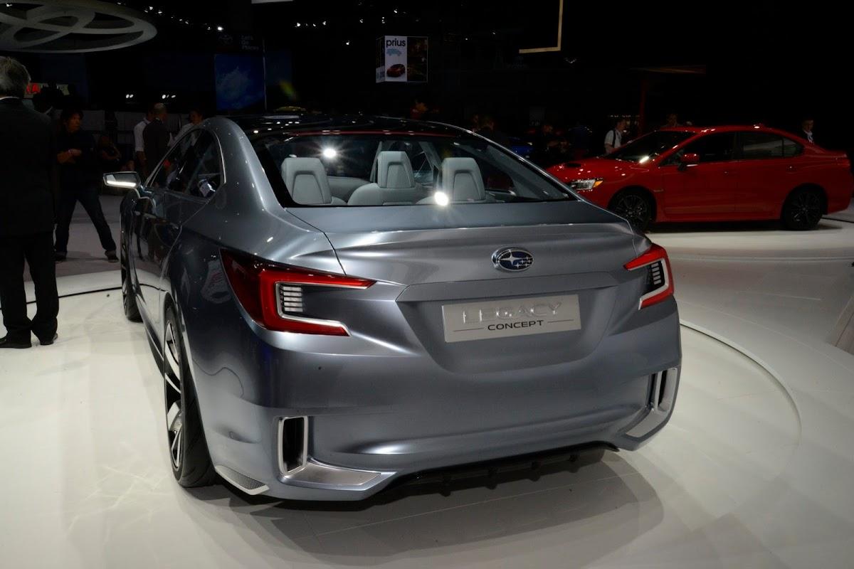Subarus 2015 legacy concept looks good in the flesh subaru legacy concept 17 vanachro Image collections