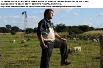 Zietsman Colin killed wife Phillipa survived bludgeoned Centenary Zimbabwe farm while asleep