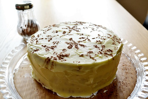White chocolate passion cake 1