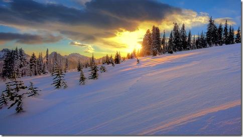 imagini iarna-munte-brazi