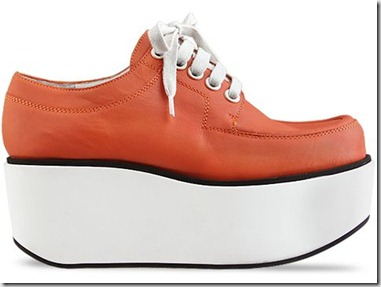 Jil-Sander-Navy-shoes-Leather-Lace-Up-Platform-(Orange)-010604