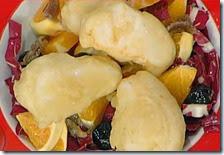 Baccalà fritto con insalatina e duretta del Gargano