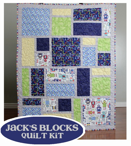 Jack's Blocks quilt kit