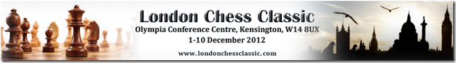 London Chess Classic 2012 banner
