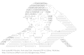 [AA]Fukawa Toko (Danganronpa)