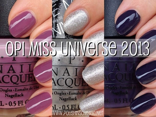 OPI Miss Universe 2013