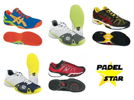 Opinión de las mejores zapatillas de pádel 2014 gracias a la tienda PadelStar.