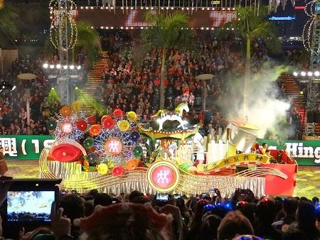 Parada Anul Nou Chinezesc: Car alegoric Parada An Nou