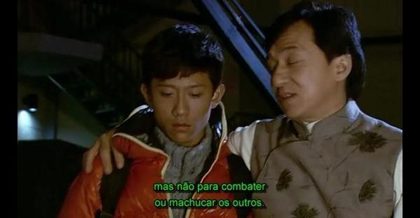 Mensagem em resposta do Mestre Chan.