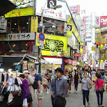 myeong-dong in Seoul, Seoul Special City, South Korea