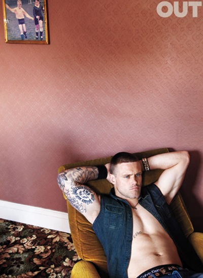 Nick Youngquest by Thomas Giddings for OUT, August 2011