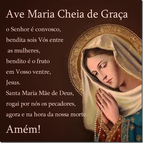 Oração da manhã à Nossa Senhora