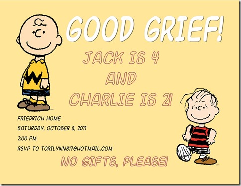 Charlie Brown Back