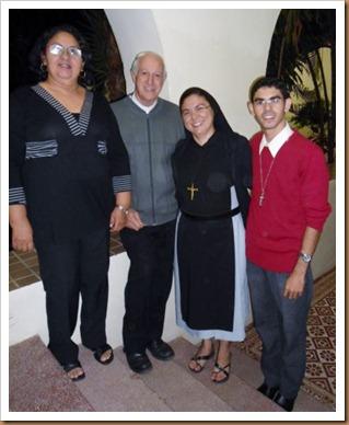 Representantes da Diocese de Mossoró