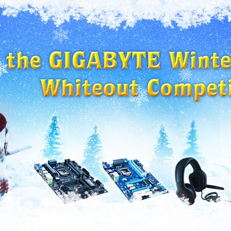 GIGABYTE launch 'Winter OC Whiteout' competition at HWBOT
