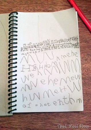 notebook work