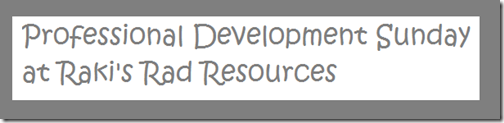 Professional Development Sunday at Raki's Rad Resources - the Unanswerable Questions