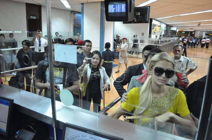 Paris Hilton at NAIA