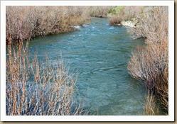 leito do rio