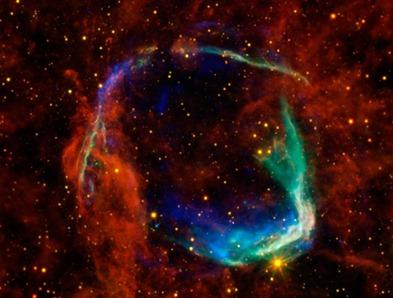 supernova RCW 86 no infravermelho e raios X