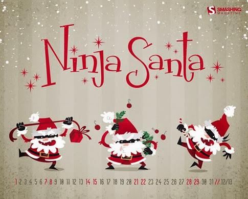 Calendario Diciembre 2